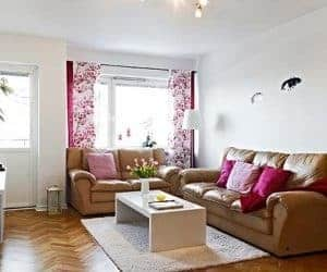 bunga hiasan rumah minimalis